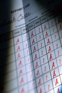 Straight-A Report Card