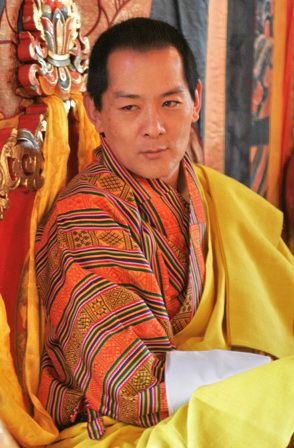 His Majesty, King Jigme Singye Wangchuck of Bhutan