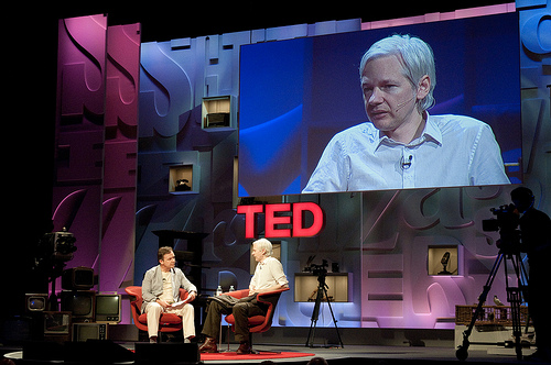 Wikileaks' Julian Assange at TED - Nick Jacobs, FACHE