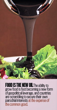 Food is The New Oil (c) ForeignPolicy.com - Nick Jacobs, FACHE - Healing Hospitals