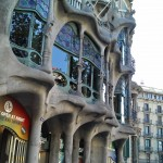 Barcelona - facade of building designed by Antonia Gaudi - Nick Jacobs