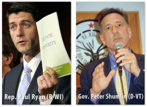 Rep. Paul Ryan (R-W) and Gov. Peter Shumlin (D-VT) - Nick Jacobs, FACHE - Healing Hospitals