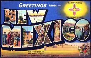 Vintage New Mexico Postcard - Nick Jacobs, FACHE - HealingHospitals.com