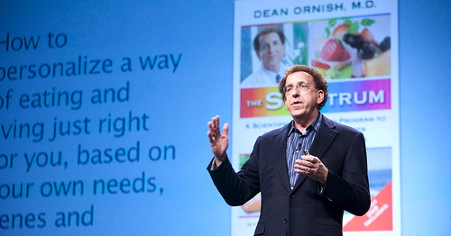 Dean Ornish at PopTech (2009) - Camden, Maine - Nick Jacobs, FACHE - HealingHospitals.com